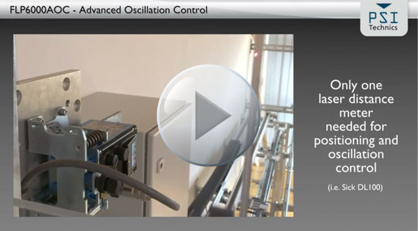 ARATEC with FLP6000AOC - control system to decrease mast oscillations of stacker cranes