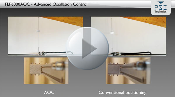 PSI Technics' Advanced Oscillation Control (AOC) removes 89% percent of stacker crane mast vibrations and helps you to shorten cycle times, maintenance costs and increase productivity.